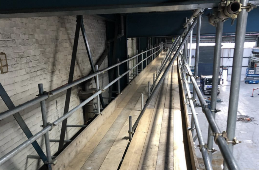 Full scaffold for Demolition works, Poole